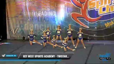 Key West Sports Academy - Twistars Flash F10od [2021 L1 Junior - Non-Building Day 2] 2021 South Florida DI & DII Nationals