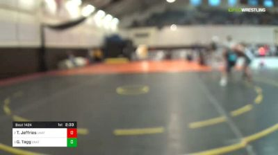141 lbs Final - Trevor Jeffries, Unattached - Wyoming vs Gabe Tagg, Unattached