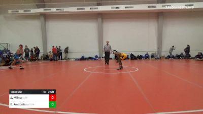 149 lbs Final - Jonathan Milner, Appalachian State vs Bryce Andonian, VT Unattached