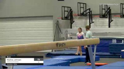 Madray Johnson - Beam, WOGA Gymnastics - 2021 American Classic and Hopes Classic