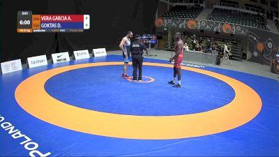 87kg Qualification - Alan Vera, USA vs Dogan Goktas, TUR
