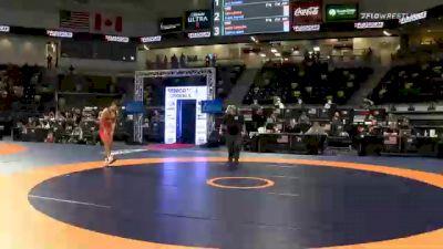 57 kg 7th Place - Jakob Camacho, TMWC / Wolfpack RTC vs Shelton Mack, TMWC / New York City RTC