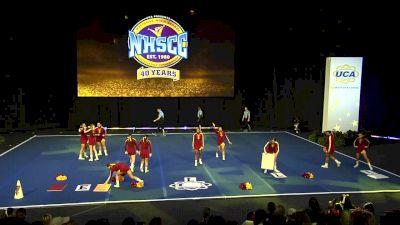 Tulare Union High School [2020 Small Varsity Non Tumbling Finals] 2020 UCA National High School Cheerleading Championship