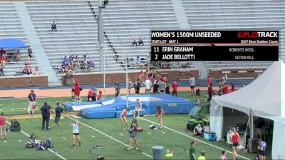 Women's 1500m Unseeded, Heat 1