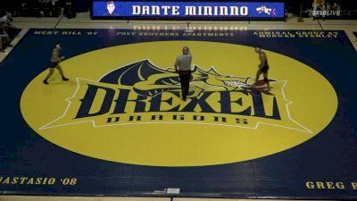 125- Nicholas Piccininni (Oklahoma State) vs Dante Mininno (Drexel)