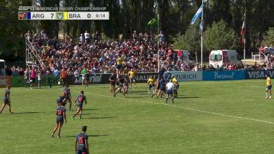 Forwards Run The Backline For Argentina XV