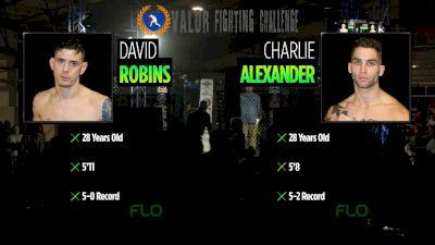 VFC 65 - David Robins vs Charlie Alexander
