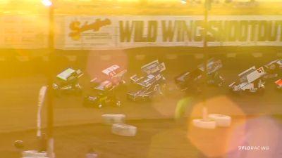 Highlights | 410 Sprint Cars Sunday at Wild Wing Shootout