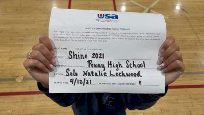 Poway High School [Open - Solo Prelims] USA Spirit & Dance Virtual National Championships