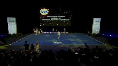 Smithtown High School West [2020 Medium Varsity Division I Prelims] 2020 UCA National High School Cheerleading Championship