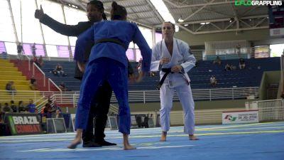 Ffion Davies vs Ana Carolina Schmitt 2019 IBJJF Brasileiros Featherweight Final Highlight