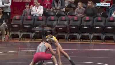 184lbs Match: Billy Janzer, Rutgers vs Dan McClure, Long Island