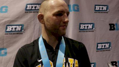 Alex Marinelli Wins Second B1G Title