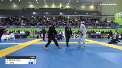 Andris Brunovski vs Thomas Mietz 2019 European Jiu-Jitsu IBJJF Championship