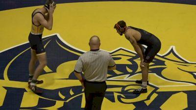 165- Travis Wittlake (Oklahoma State) vs Ebed Jarrell (Drexel)