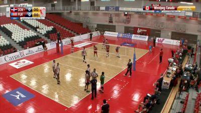 Dominican Republic vs Puerto Rico   2019 NORCECA Mens Continental Championship