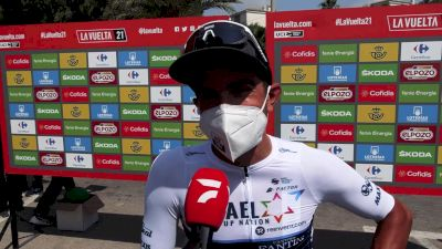 James Piccoli: Effects Of the Heat At The 2021 Vuelta A España