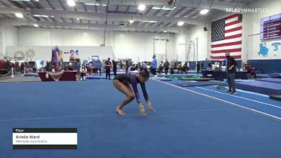 Arielle Ward - Floor, Metroplex Gymnastics - 2021 Region 3 Women's Championships