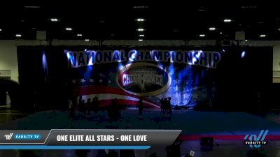 One Elite All Stars - One Love [2021 L1 Mini - D2 Day 1] 2021 ACP: Tournament of Champions