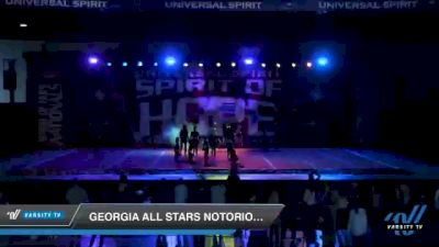 Georgia All Stars Notorious [2021 Senior Coed 5 D2 Day 2] 2021 Universal Spirit: Spirit of Hope National Championship