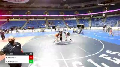 285 lbs 3rd Place - Harrison Levans, Pennsylvania vs Antonio Ramos, New England