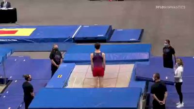Jeffrey Gluckstein - Double Mini Trampoline, ETA - 2021 USA Gymnastics Championships