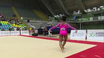 Jordan Chiles - Floor, United States - 2018 Pacific Rim Championships