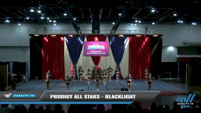 Prodigy All-Stars - Blacklight [2021 L6 International Open Coed - Small Day 2] 2021 The American Spectacular DI & DII