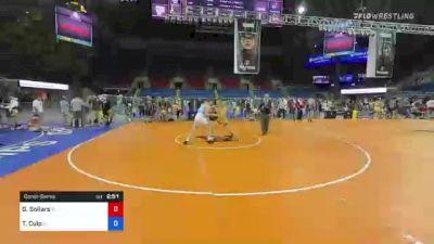 195 lbs Consolation - Gabe Sollars, Indiana vs Tom Culp, Illinois