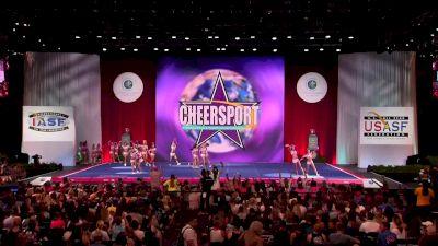 Cheer Savannah Allstars - Lady Lace [2018 Senior Large All Girl Finals] The Cheerleading Worlds
