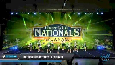 Cheerletics Royalty - LEMONADE [2021 L4 Youth Day 2] 2021 Cheer Ltd Nationals at CANAM