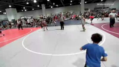 82 lbs Rr Rnd 2 - Calen Childress, Bracket Bullies vs Jessie Valenzuela, Gold Rush