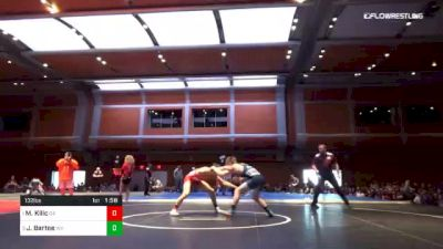 132 lbs Final - Michael Kilic, GA vs Justin Bartee, WV