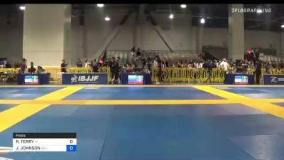 RAYMON TERRY vs JERIMIAH JOHNSON 2021 American National IBJJF Jiu-Jitsu Championship