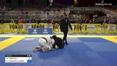 AN THIEN VU vs EDWARD VINCENTE LUCERO JR. 2021 Pan Jiu-Jitsu IBJJF Championship