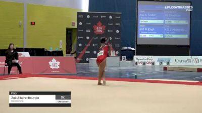 Zoé Allaire-Bourgie - Floor, Club Gymnix - 2019 Elite Canada - WAG