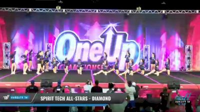 Spirit Tech All-Stars - Diamond [2021 L2 Senior - D2 Day 1] 2021 One Up National Championship