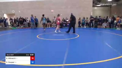 53 kg Consi Of 8 #2 - Carolina Johnson, OR vs Samara Chavez, TX