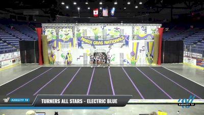 Turners All Stars - Electric Blue [2021 L5 Senior Open] 2021 MG Bead Blast