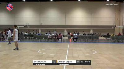 Aim High Eagles vs. On Geaux Elite - 2021 AAU Boys Championship (15U-17U and 20U)