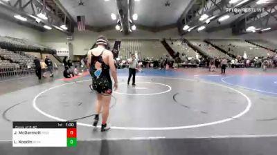184 lbs Consolation - James McDermott, Frost Gang vs Laurence Koodin, Suffern