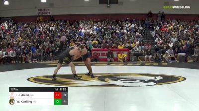 197 lbs Dual - Wyatt Koelling vs Jay Aiello