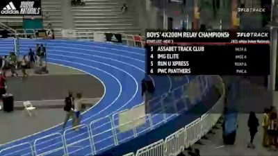 High School Boys' 4x200m Relay Championship, Finals 3