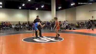 57 kg Prelims - Beau Bayless, New England RTC vs Zack Mattin, Foxfire Wrestling Club