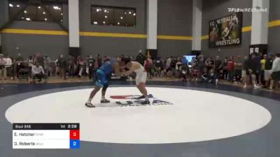 86 kg Quarterfinal - Ethan Hatcher, Spartan Combat RTC vs Darrien Roberts, Oklahoma Regional Training Center