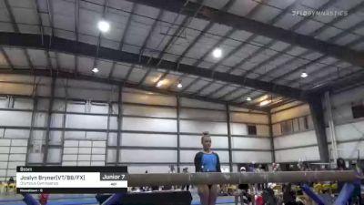 Joslyn Bryner(VT/BB/FX) - Beam, Olympus Gymnastics - 2021 Region 1 Women's Championships