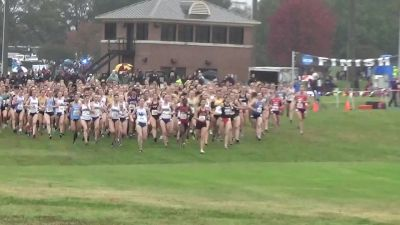 2018 DI NCAA Southeast XC Regional Women's 6k Highlights