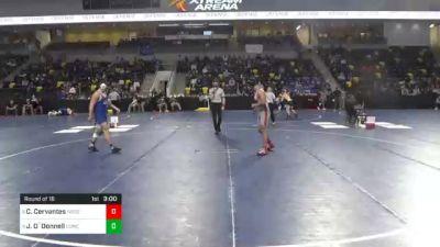 157 lbs Prelims - Cole Cervantes, North Central College vs Jack O`Donnell, Concordia University Wisconsin