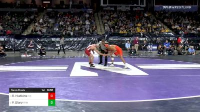 125 lbs Semifinal - Brock Hudkins, Indiana vs Pat Glory, Princeton