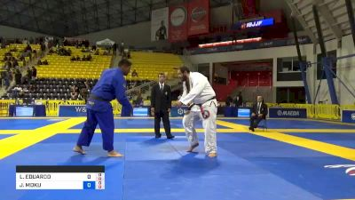 LUIS EDUARDO LOPES DO CARMO vs JOSEPH MOKU KAHAWAI JR. 2019 World Jiu-Jitsu IBJJF Championship